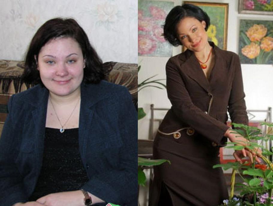 до и после диеты минус 60