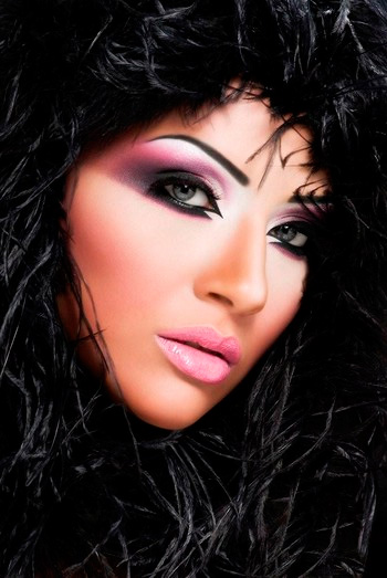 макияж для брюнеток 5