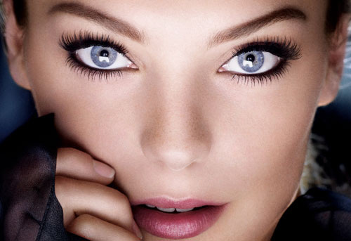 макияж для голубых глаз 2