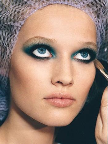 макияж для голубых глаз 6