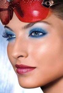макияж для голубых глаз 8