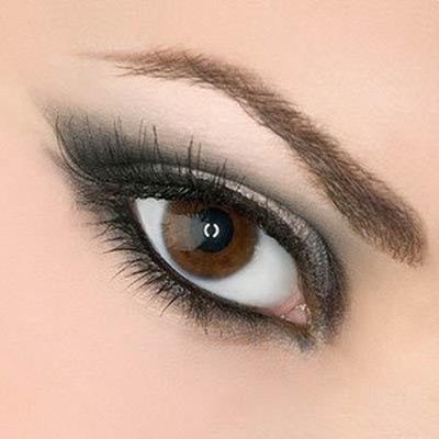 макияж для карих глаз 2