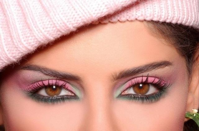 макияж для карих глаз 5