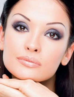 макияж для карих глаз 6