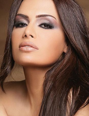 макияж для карих глаз 7