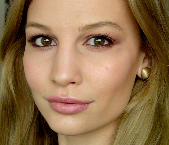 макияж для карих глаз 8