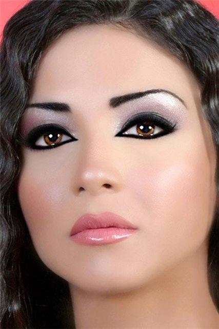 вечерний макияж 6