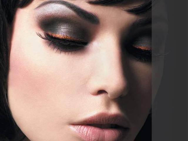 вечерний макияж 11