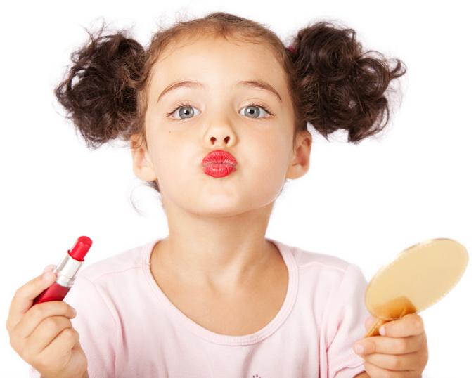 особенности детского макияжа