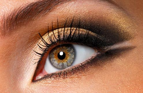 особенности макияжа для серых глаз
