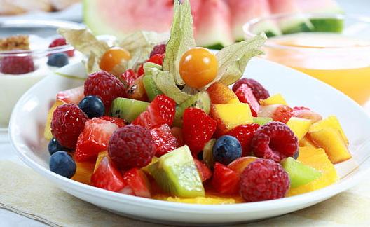 фруктовые салаты для похудения