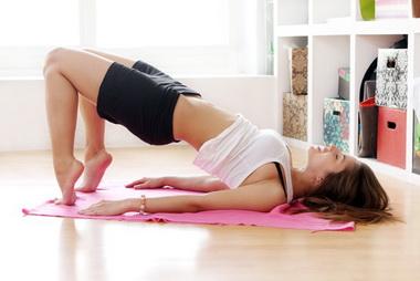 тренировка мышц живота