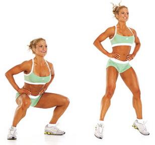 виды упражнений для похудения