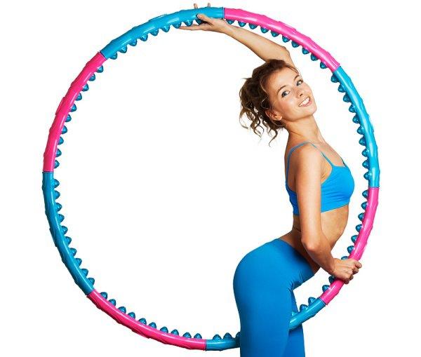 варианты упражнения с обручем