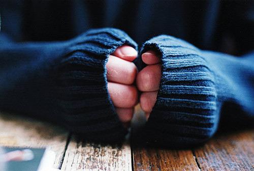 руки в рукавах