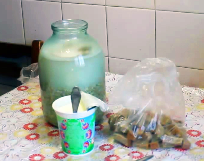 приготовление овсяного киселя