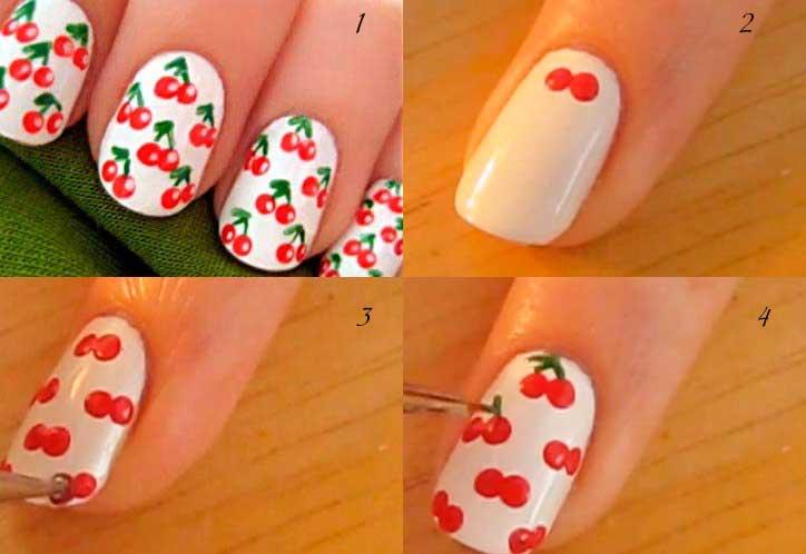 Дизайн коротких ногтей фото пошагово 198