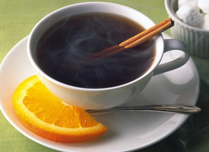 Кофе и апельсин