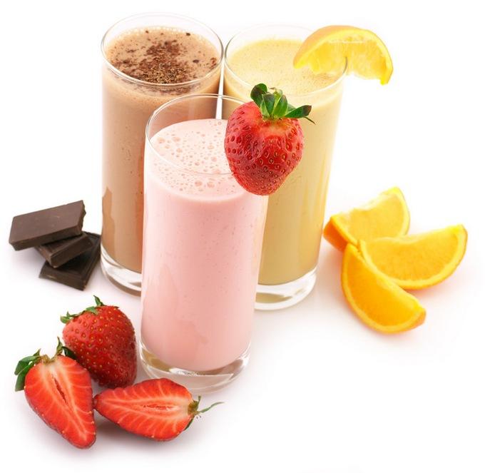 Фруктовые протеиновые коктейли