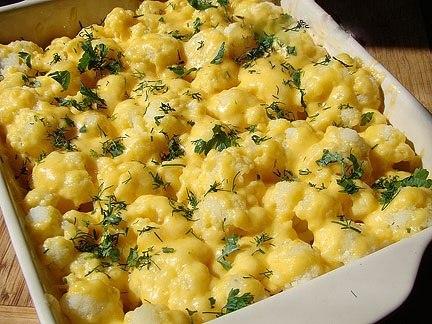 Цветная капуста рецепты в духовке с сыром