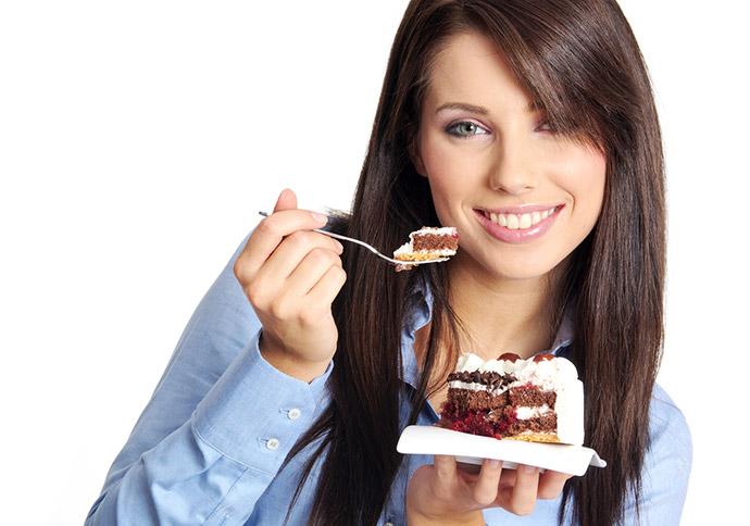 Небольшие послабления во время диеты