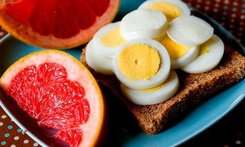 диета грейпфрут и яйца