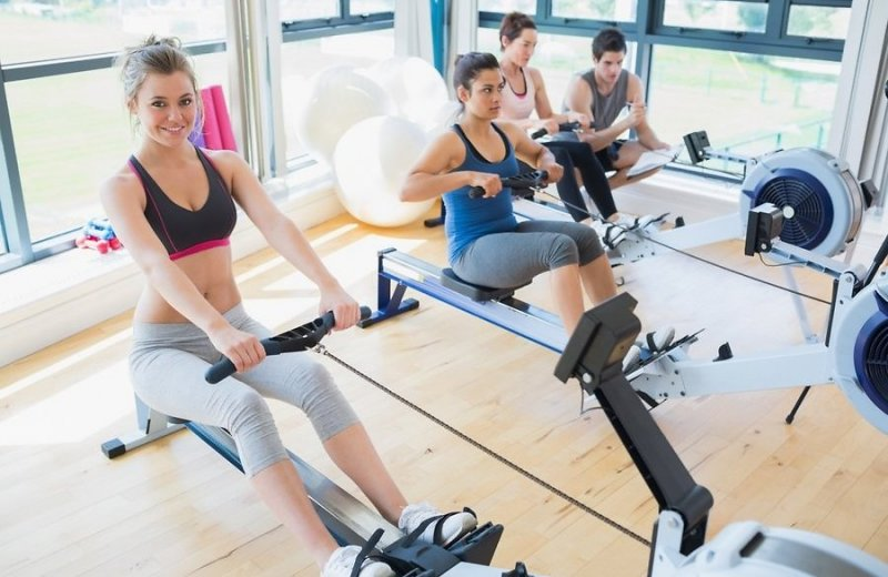 Похудение в спортзале