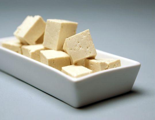 Соевый сыр, содержащий цинк