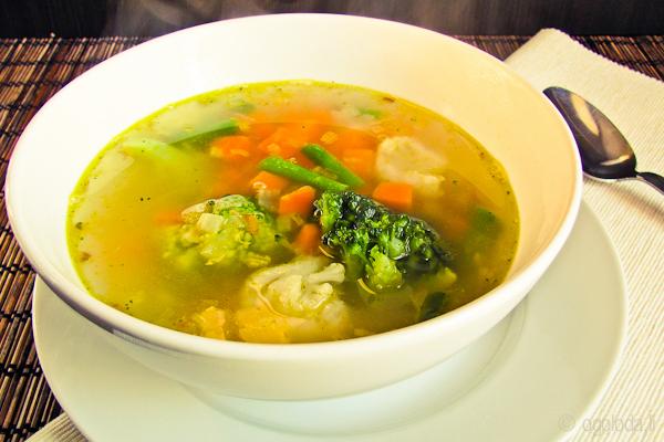 Вегетарианский суп для похудения
