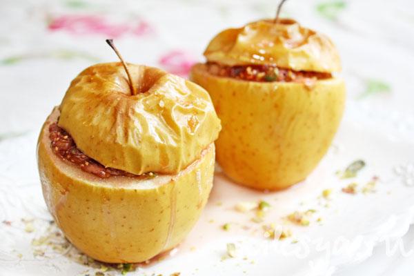 запеченые яблоки