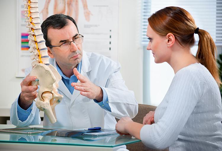 консультация врача при остеохондрозе