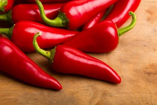 Красный перец в составе крема для похудения