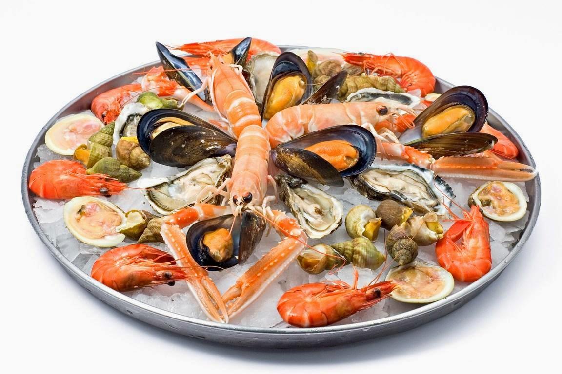 Белковая пища - морепродукты