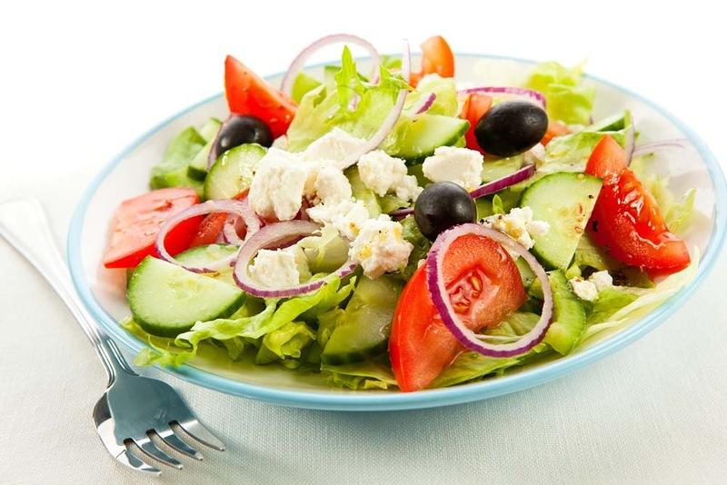 Низкокалорийные салаты рецепты с фото указанием калорий