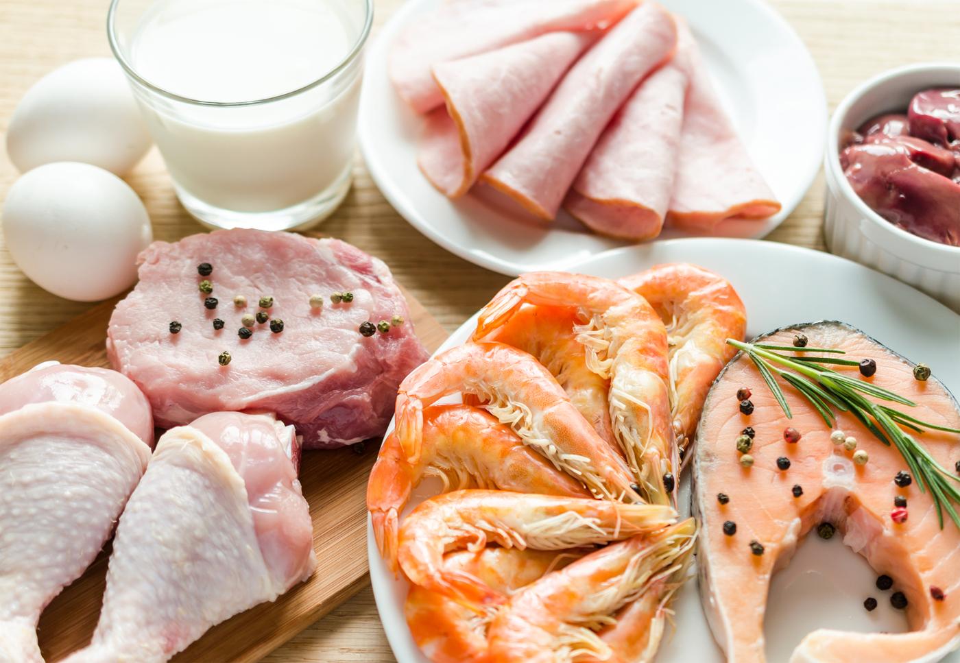Белковая пища в фитнес диете