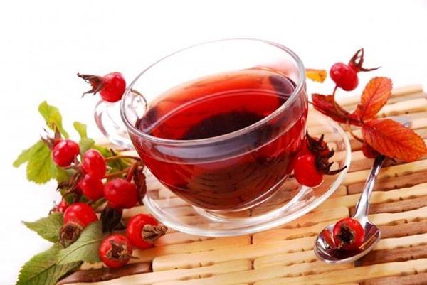 Напиток шиповника для I группы крови