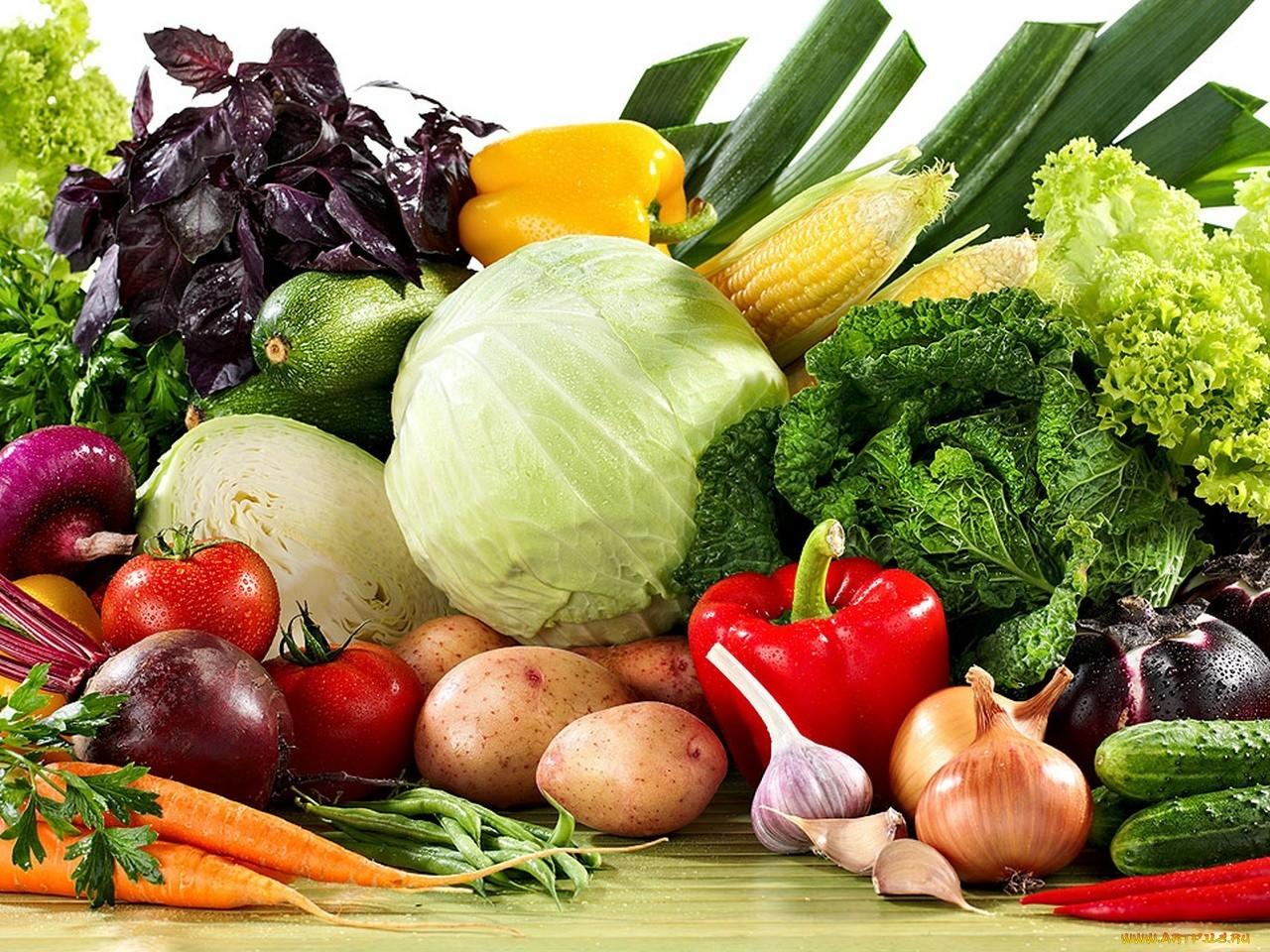 Овощи для  группы крови 2 положительная