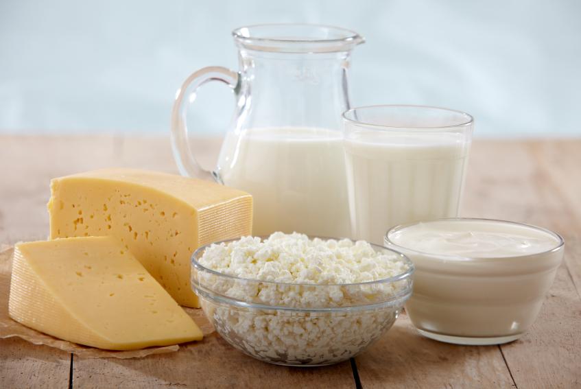 Исключение молочных продуктов  при ревматоидном артрите