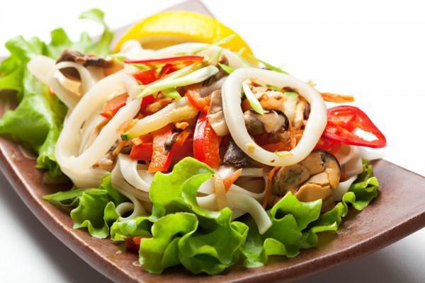 Салат с кальмарами (более 100 рецептов с фото) 26