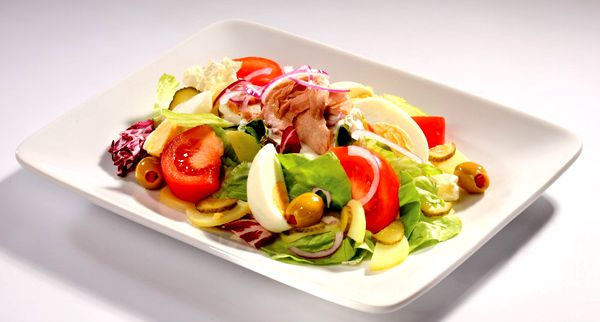 диетический салат с тунцом консервированным диетический рецепт