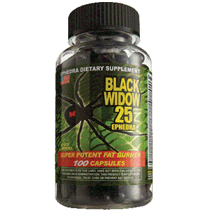 Cloma Pharma - Black spider (widow)