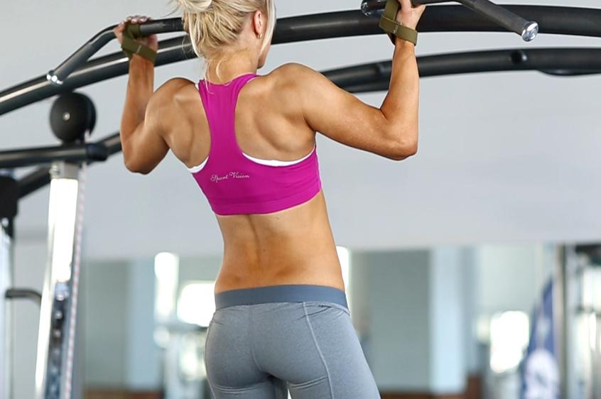 Упражнения на широчайшие мышцы спины
