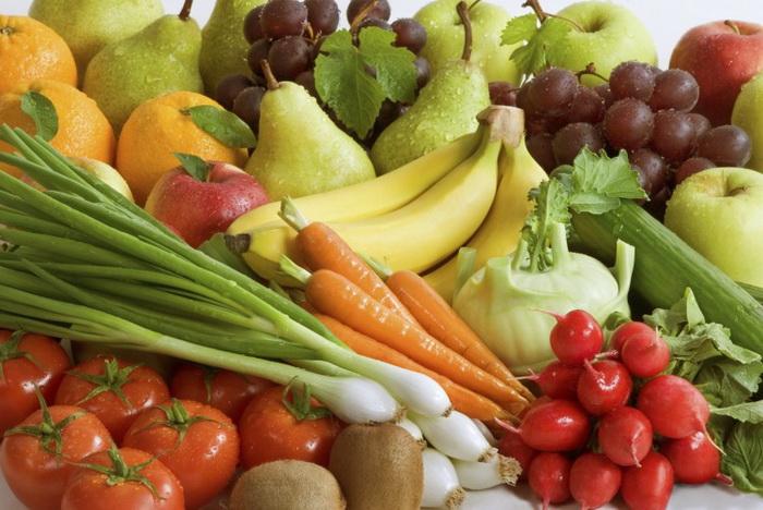 Увеличение доли овощей и фруктов в рационе