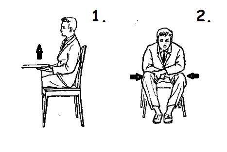Как качать мышцы пресса сидя