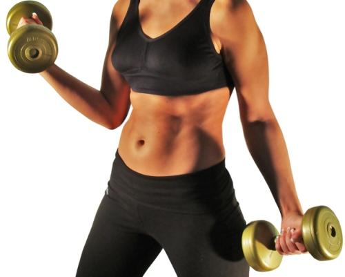 Развитие и поддержание тонуса мышц при помощи силовых упражнений