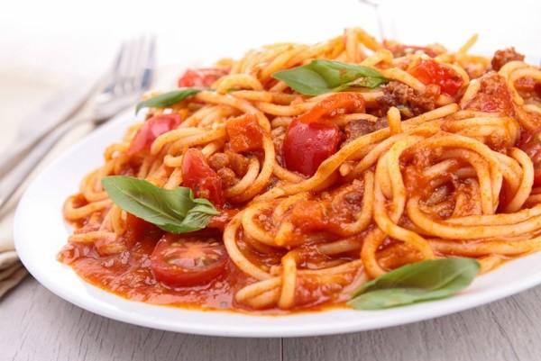 Отварные спагетти