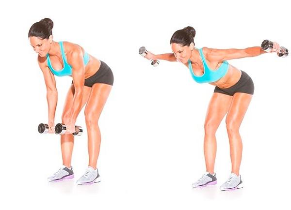 Упражнения для похудения рук и предплечий