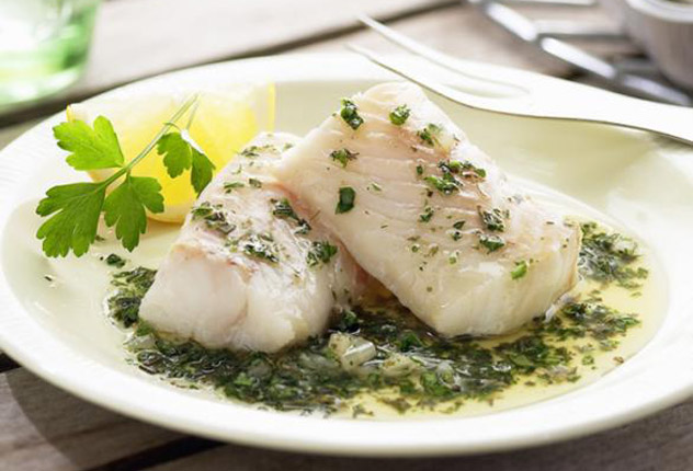Тушеная в духовке рыба