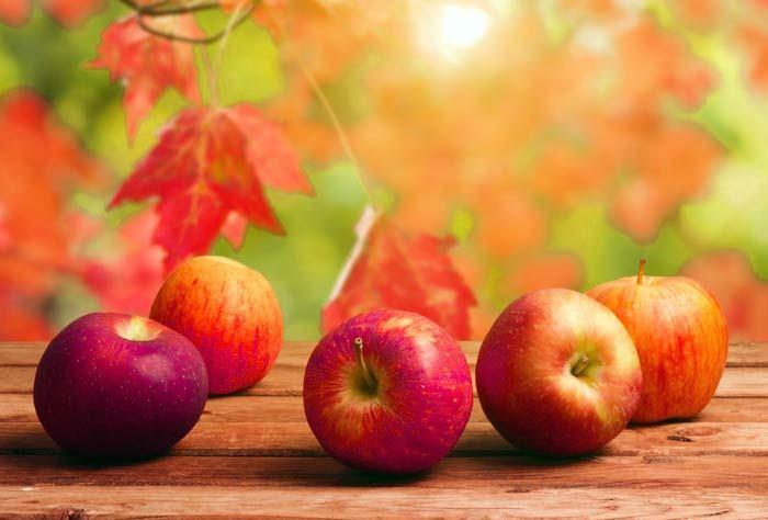 Употребление яблок после инфаркта
