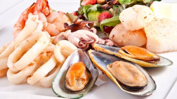 Полезные морепродукты после инфаркта